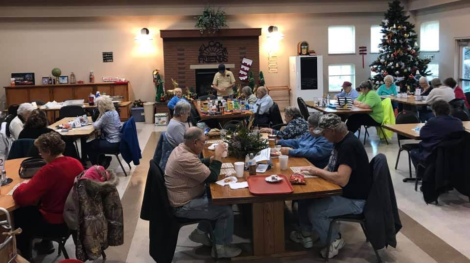 Decade's Diner in the Preble County Senior Center